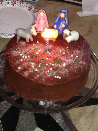 Jesus Birthday Cake